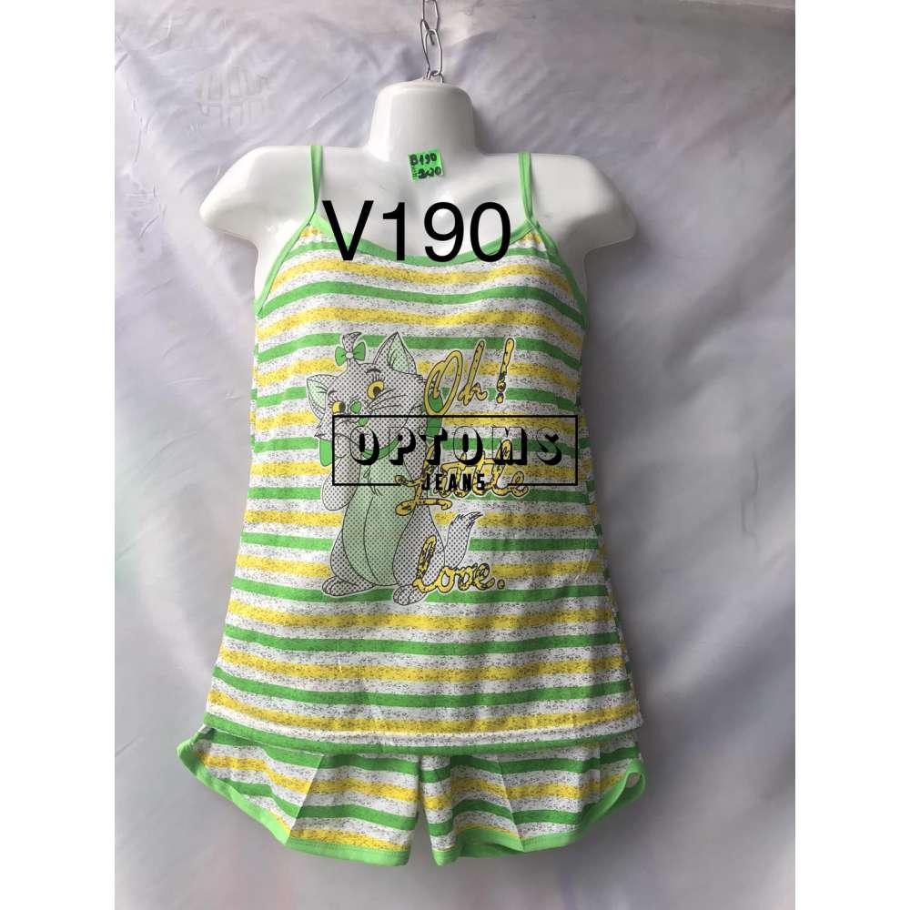 Пижама 40-48 (V190) фото