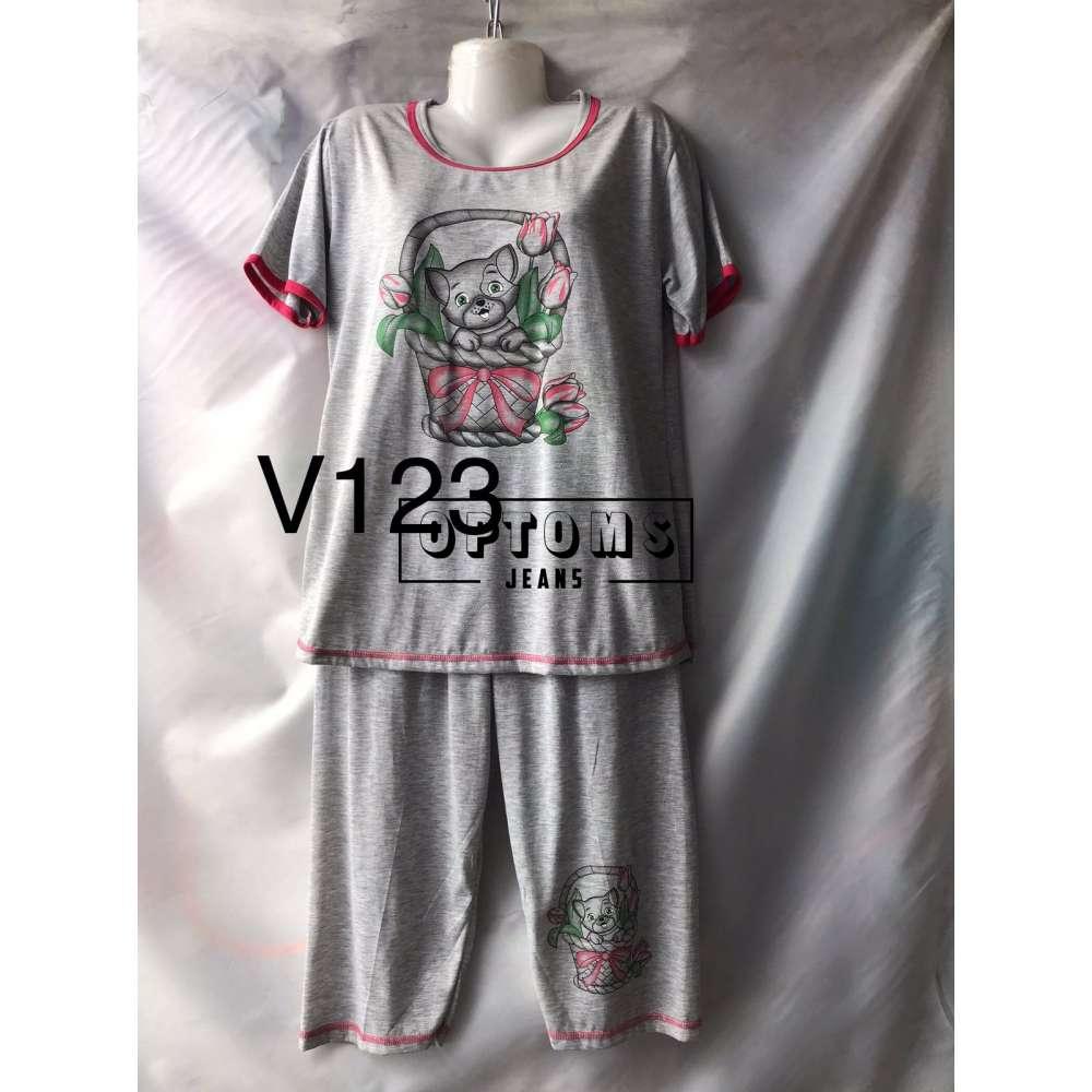 Пижама 42-50 (V123) фото