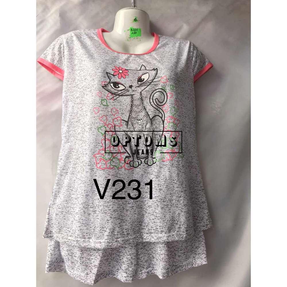 Пижама 44-52 (V231) фото