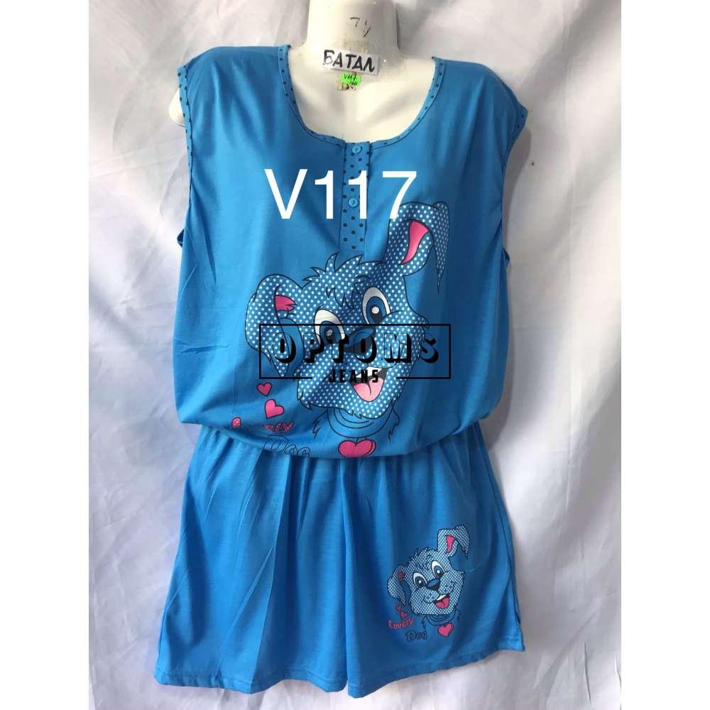 Пижама 5XL-7XL (V117) фото