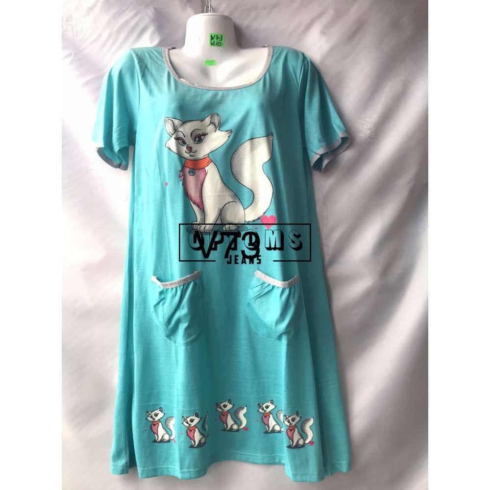 Сорочка ночная 44-52 (V73) фото