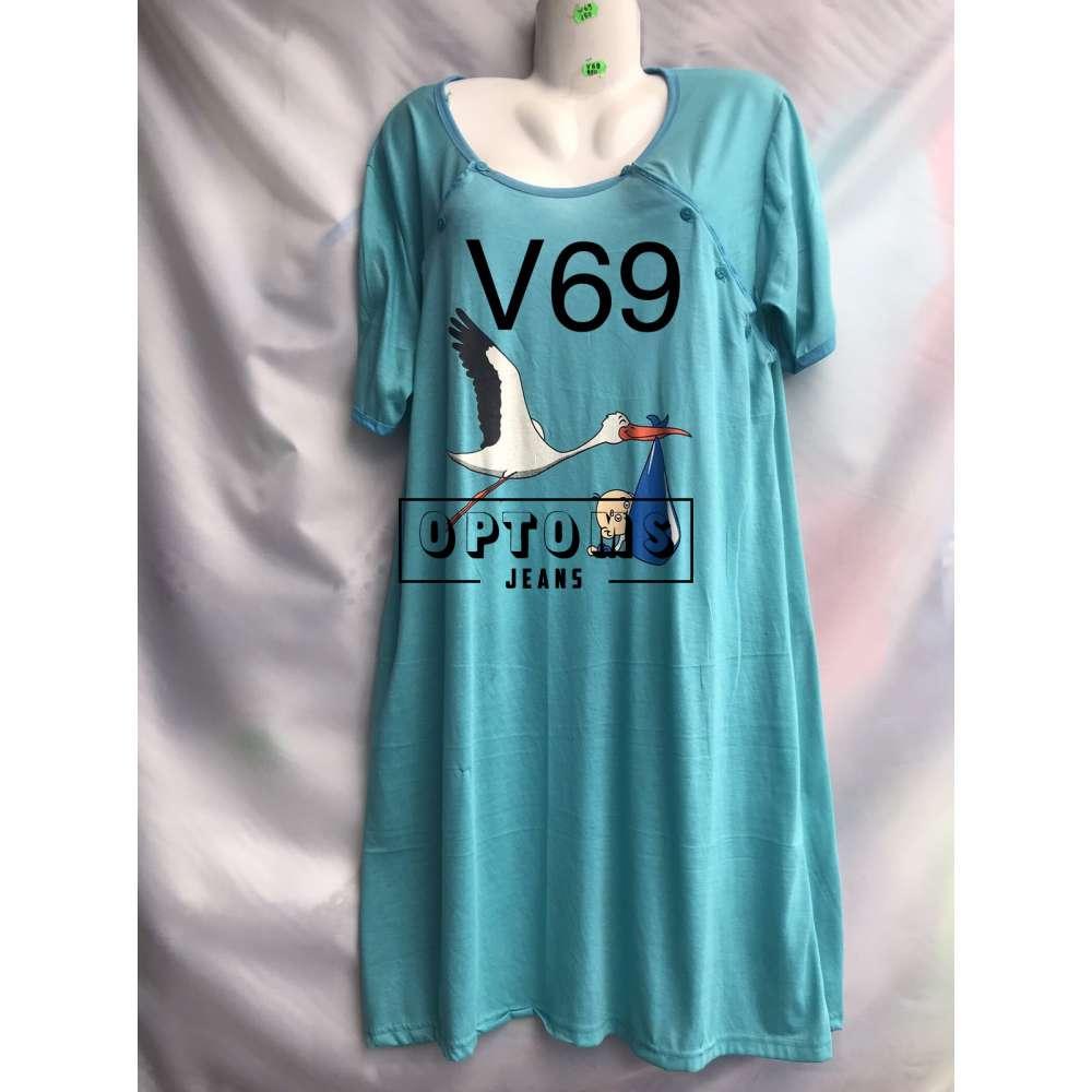 Сорочка ночная 48-56 (V69) фото