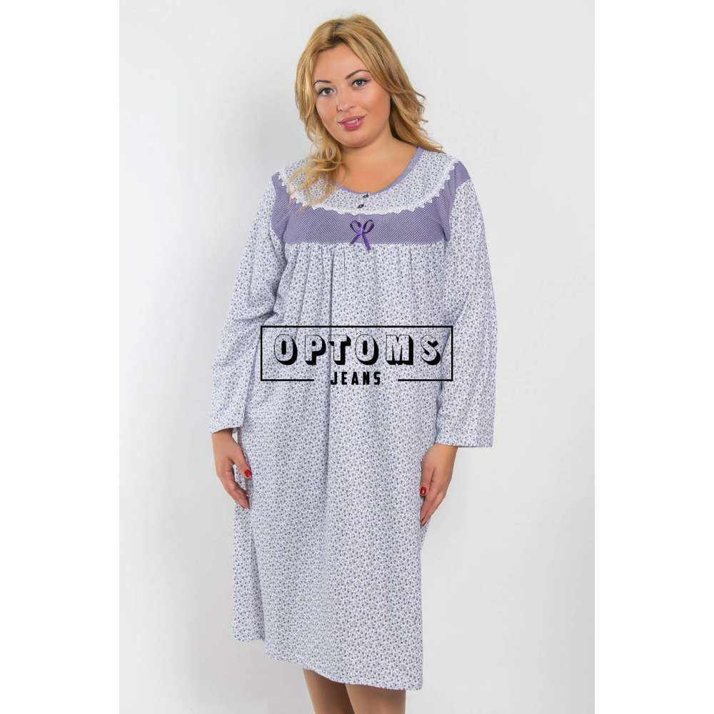 Сорочка ночная байка L-2XL (снтн323) фото