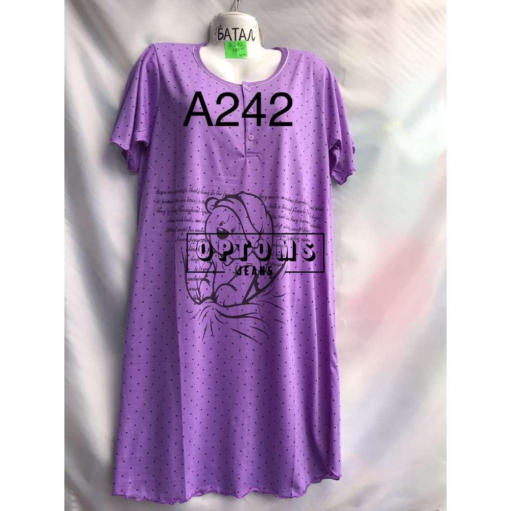 Сорочка ночная батал 52-60 (A242) фото