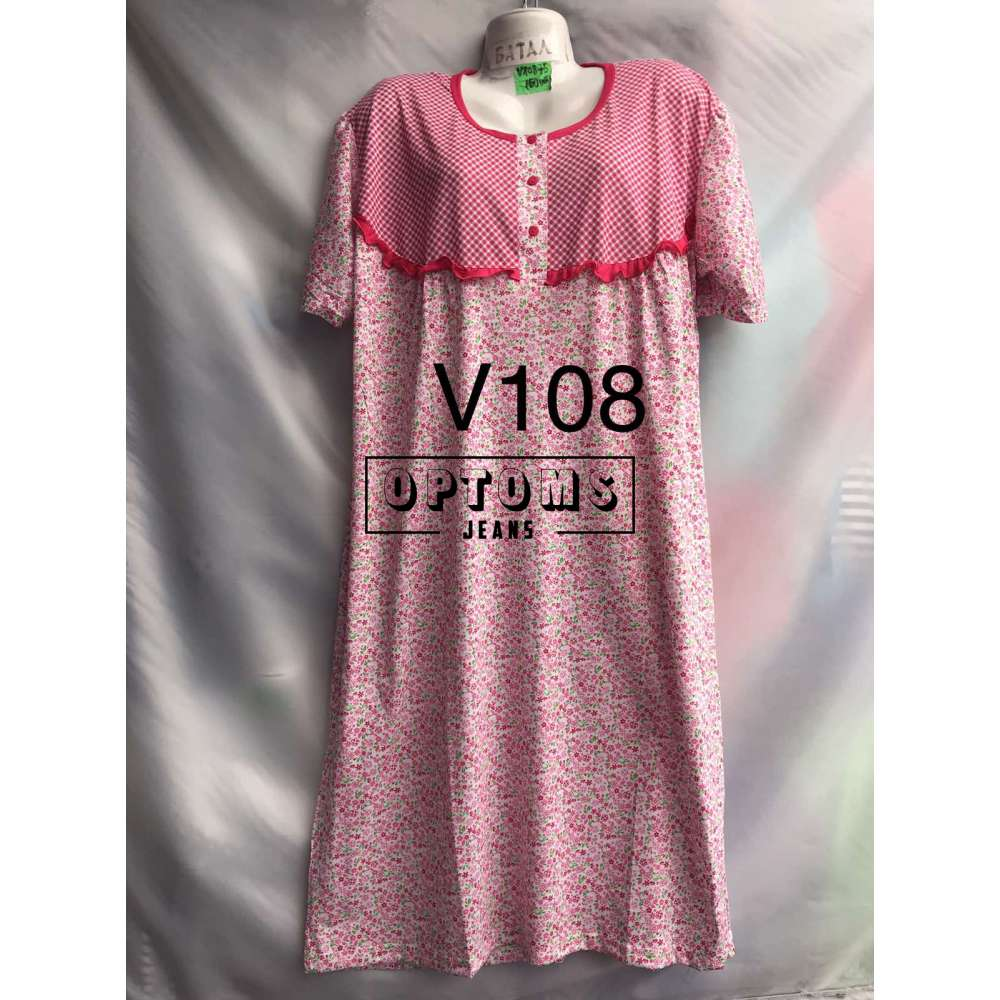 Сорочка ночная батал 52-60 (V108) фото