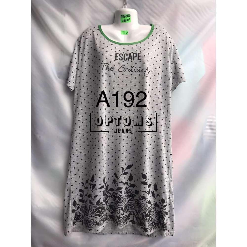 Сорочка ночная батал 56-60 (A192) фото