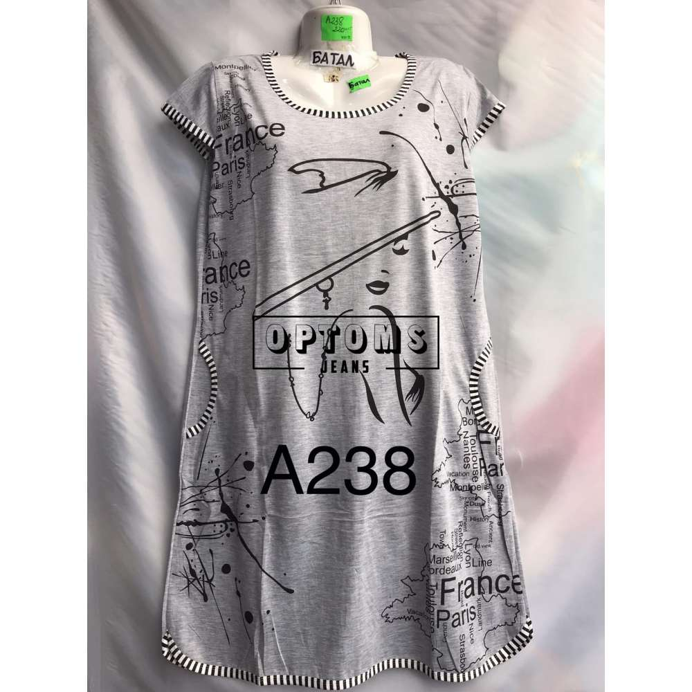 Сорочка ночная батал 56-60 (A238) фото