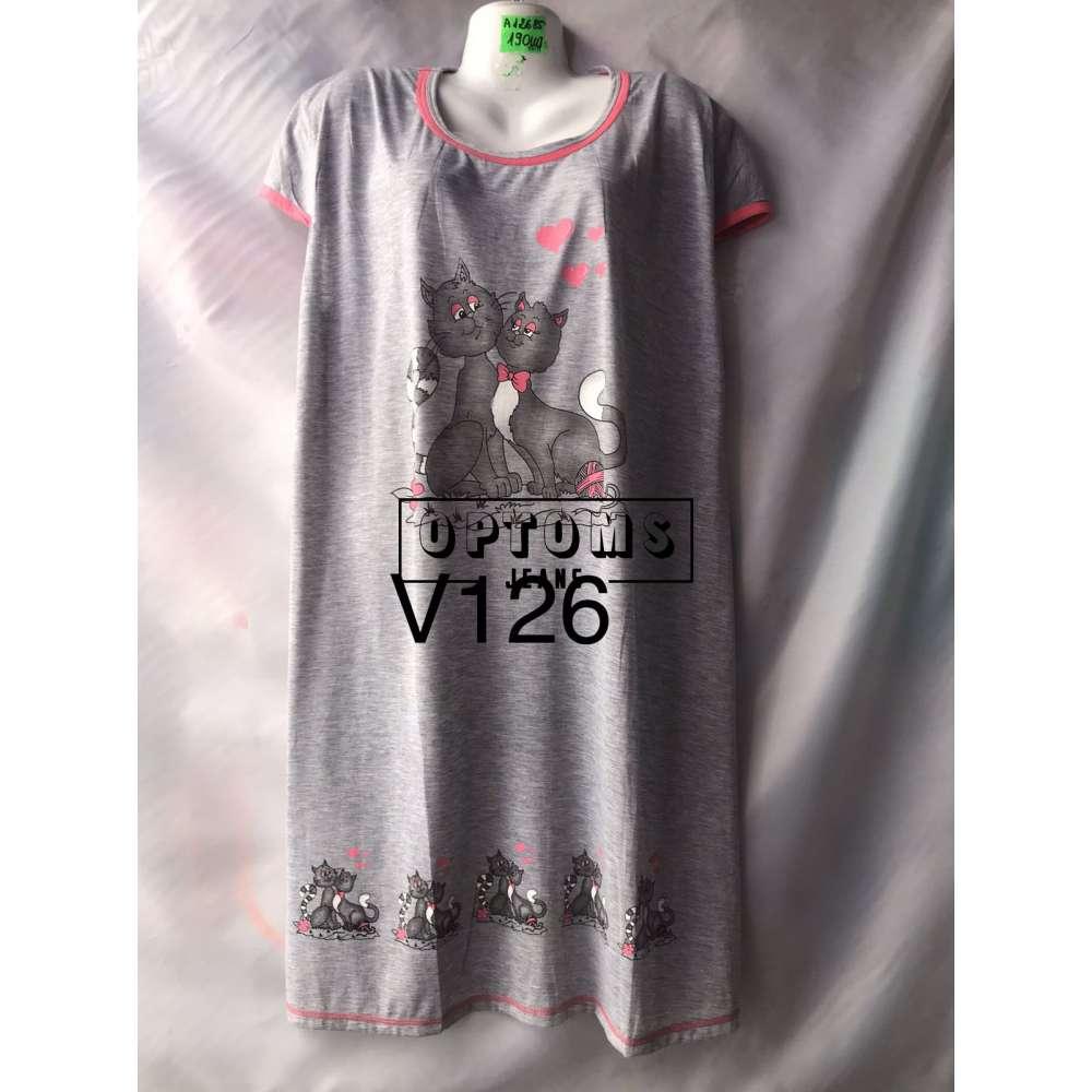 Сорочка ночная батал 56-60 (V126) фото