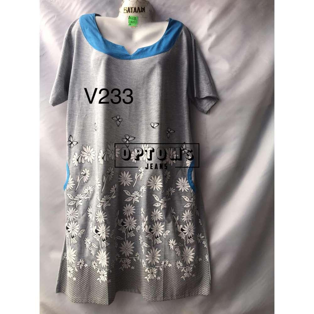 Сорочка ночная батал 56-60 (V233) фото