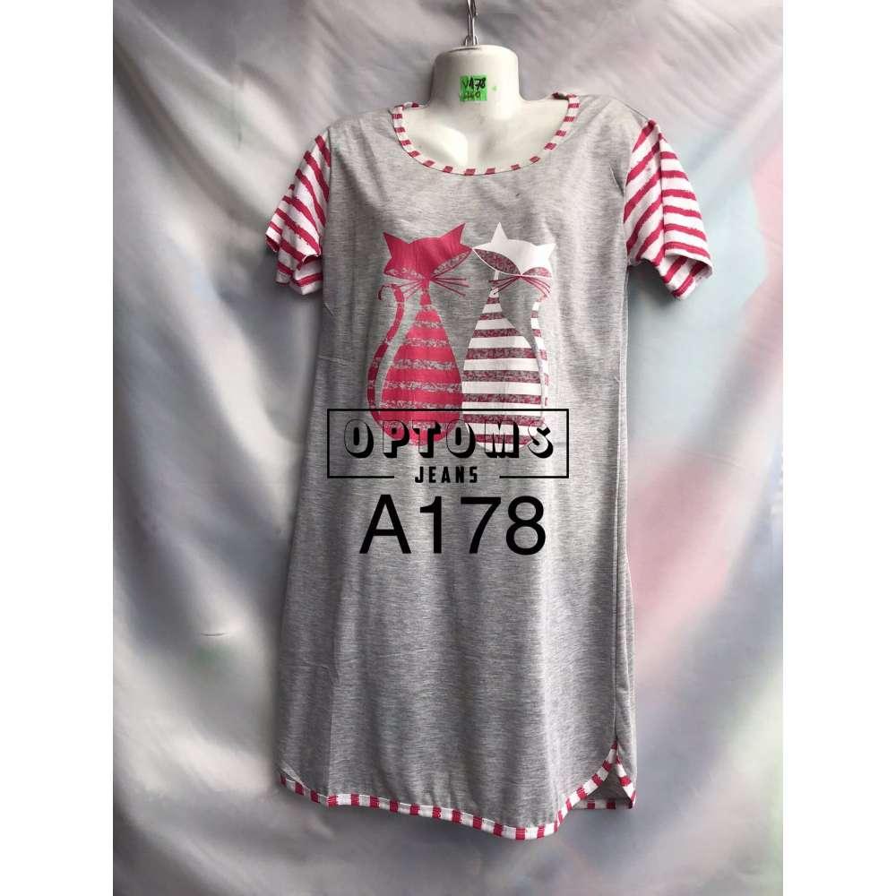 Сорочка ночная L-4XL (A178) фото