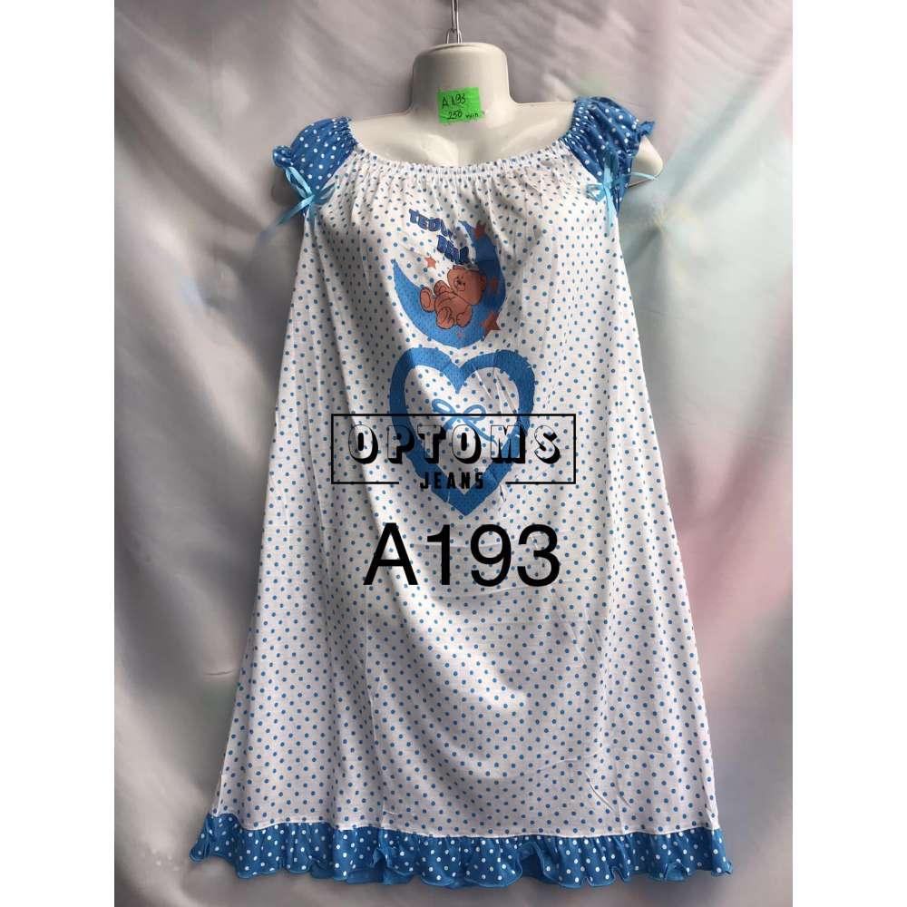 Сорочка ночная L-4XL (A193) фото