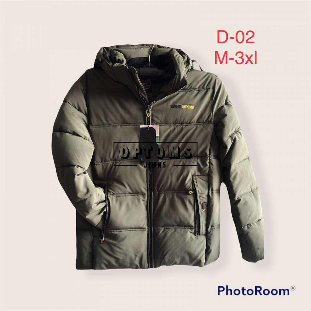 Мужская зимняя куртка 48-56 d-02a фото