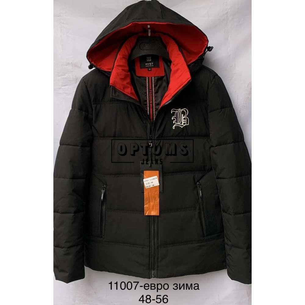 Мужская зимняя куртка 48-56 (11007a) фото