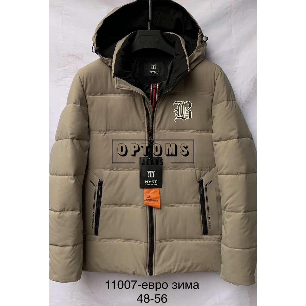 Мужская зимняя куртка 48-56 (11007b) фото