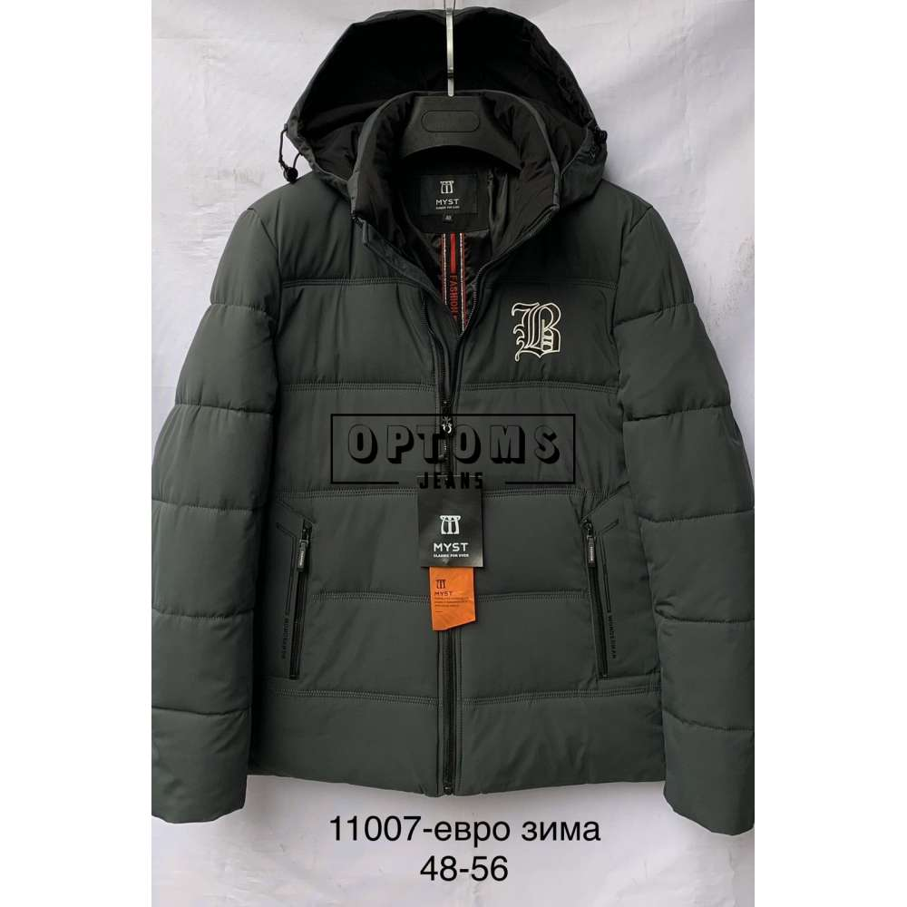 Мужская зимняя куртка 48-56 (11007c) фото