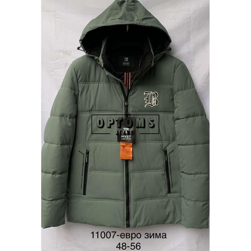 Мужская зимняя куртка 48-56 (11007d) фото