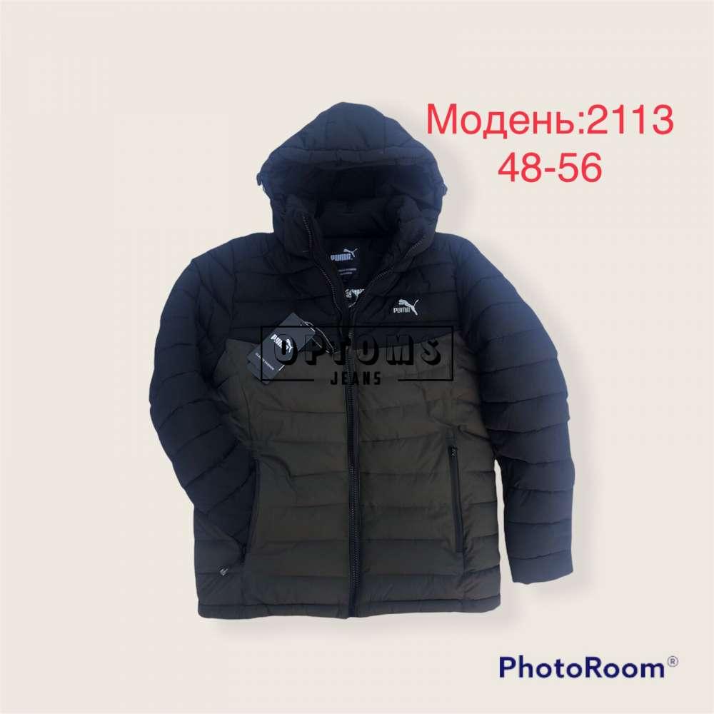 Мужская зимняя куртка 48-56 (2113b) фото