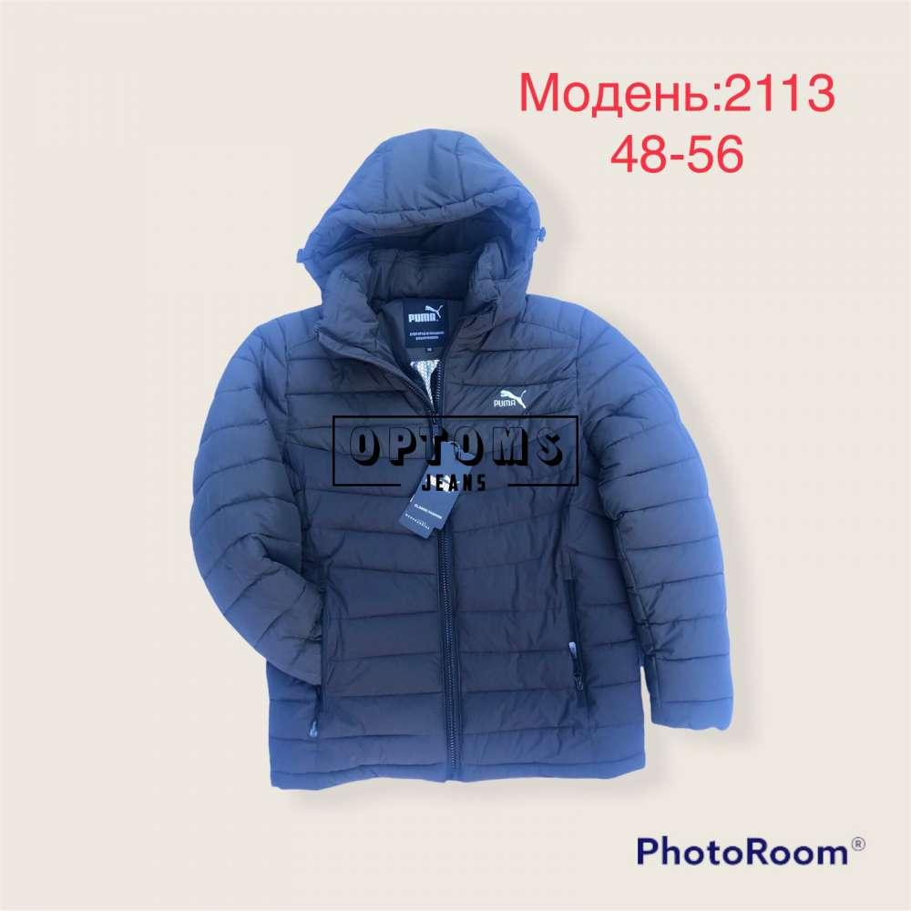 Мужская зимняя куртка 48-56 (2113e) фото
