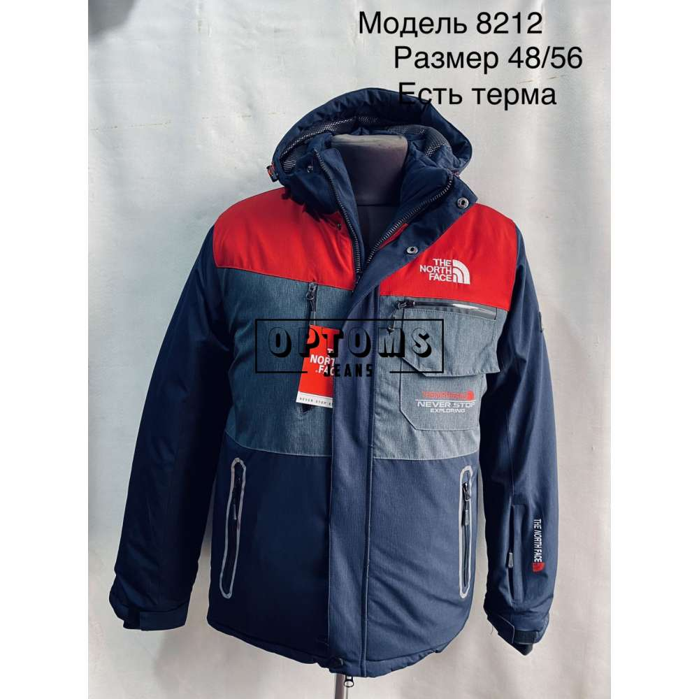 Мужская зимняя куртка 48-56 (8212a) фото