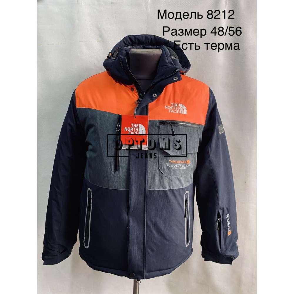 Мужская зимняя куртка 48-56 (8212b) фото