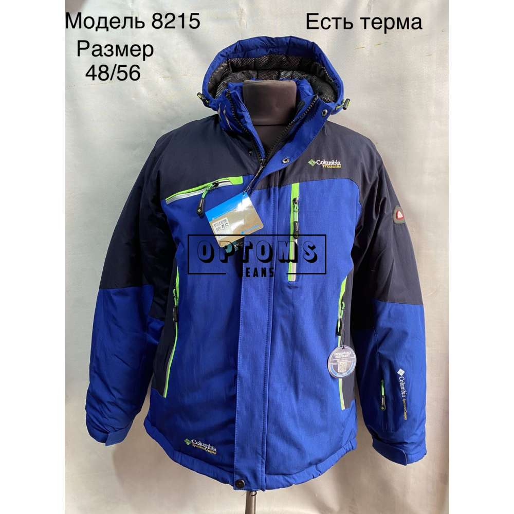 Мужская зимняя куртка 48-56 (8215a) фото