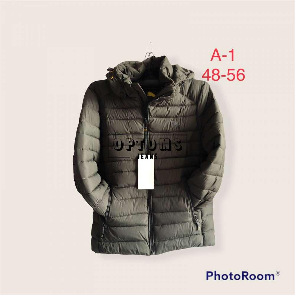 Мужская зимняя куртка 48-56 a-1a фото