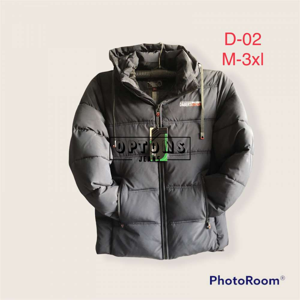 Мужская зимняя куртка 48-56 d-02b фото