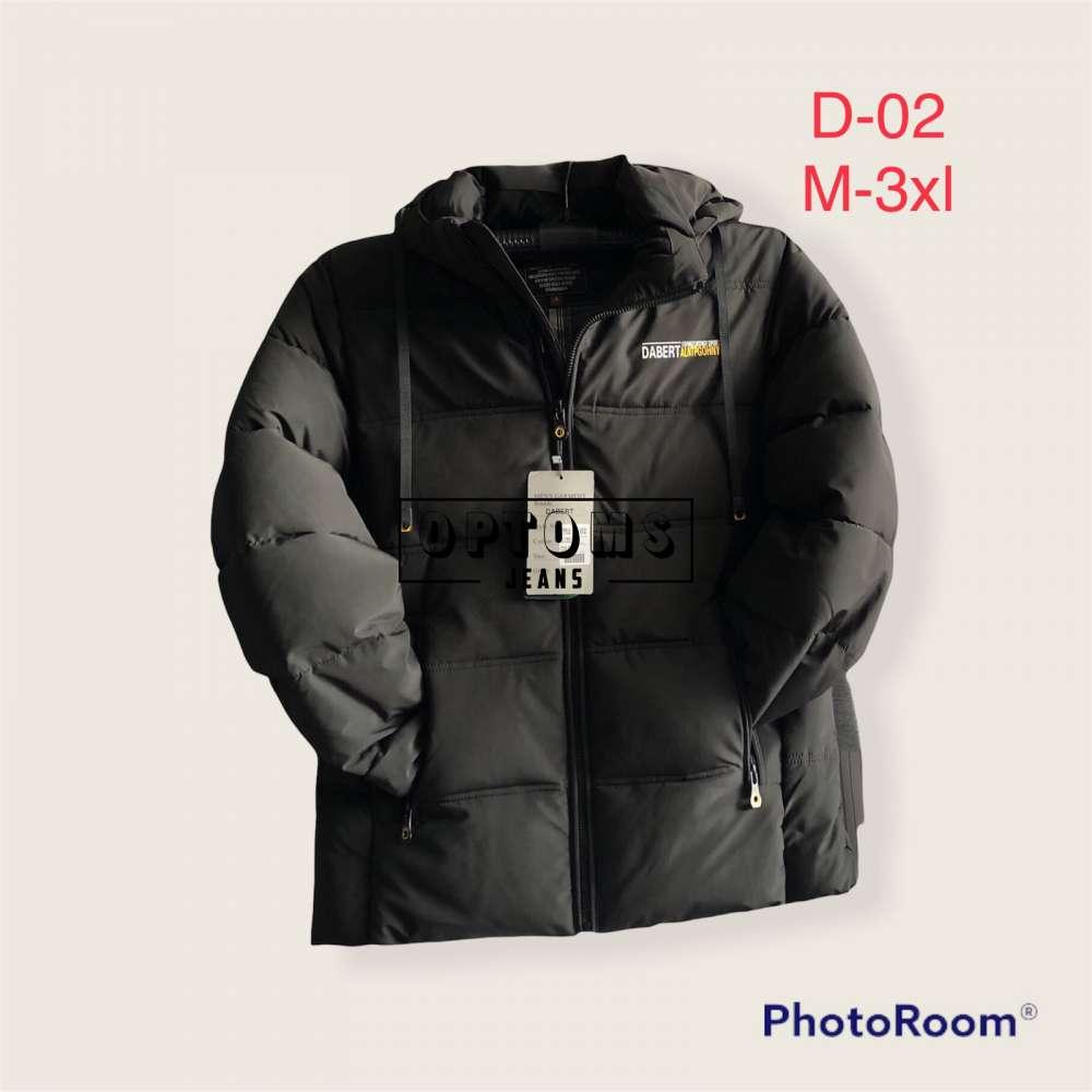 Мужская зимняя куртка 48-56 d-02c фото