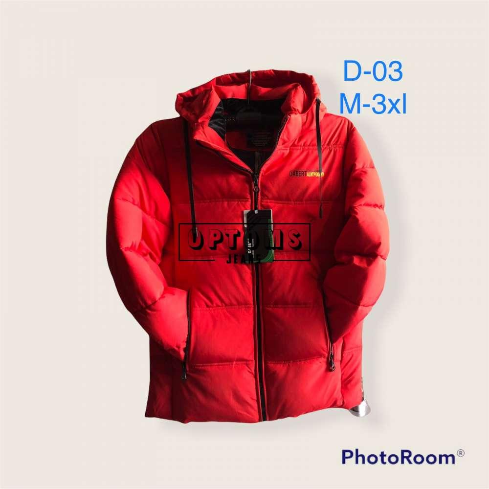 Мужская зимняя куртка 48-56 d-03a фото