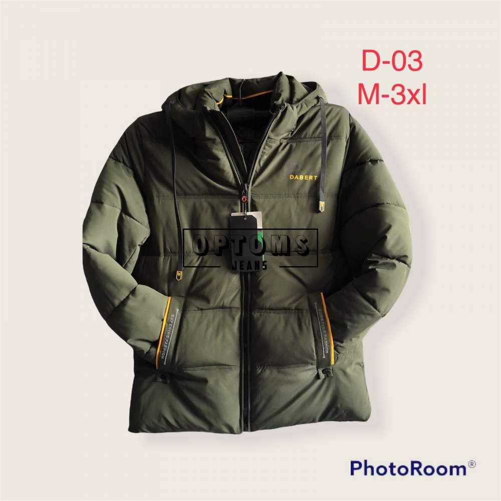 Мужская зимняя куртка 48-56 d-03b фото