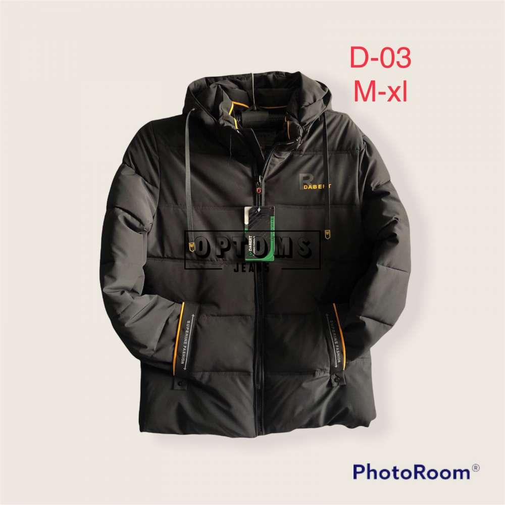 Мужская зимняя куртка 48-56 d-03c фото