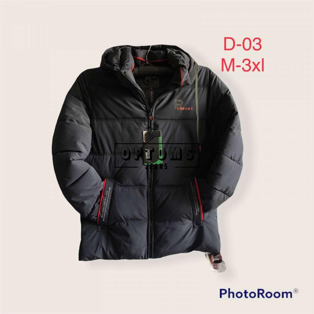 Мужская зимняя куртка 48-56 d-03d фото