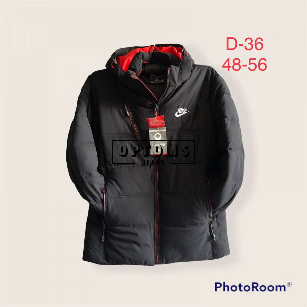 Мужская зимняя куртка 48-56 d-36b фото