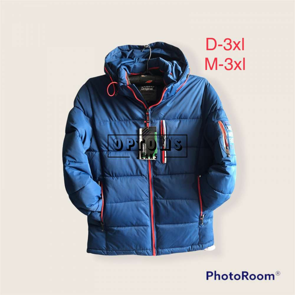 Мужская зимняя куртка 48-56 d-3xl фото