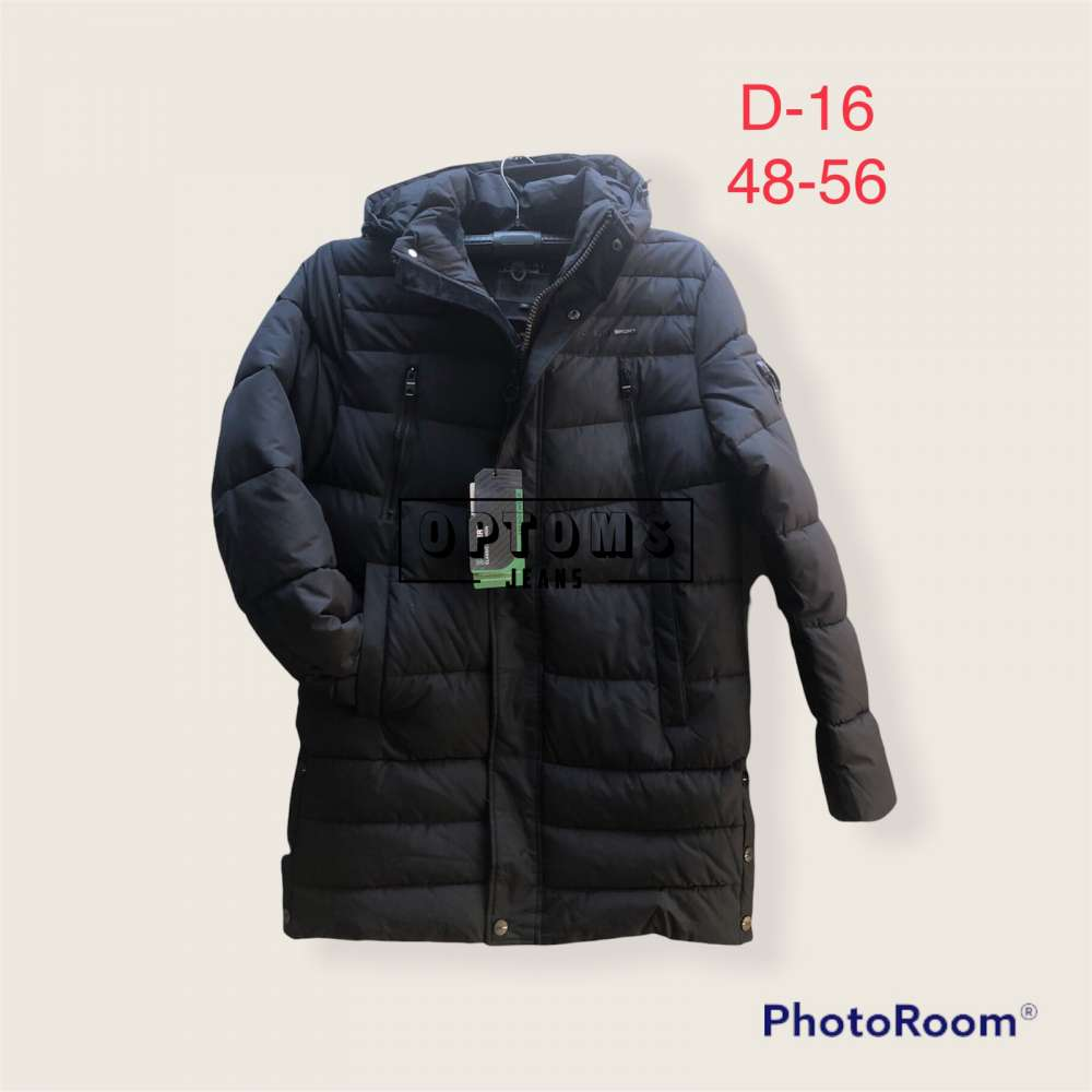 Мужская зимняя куртка 48-56 d:16a фото
