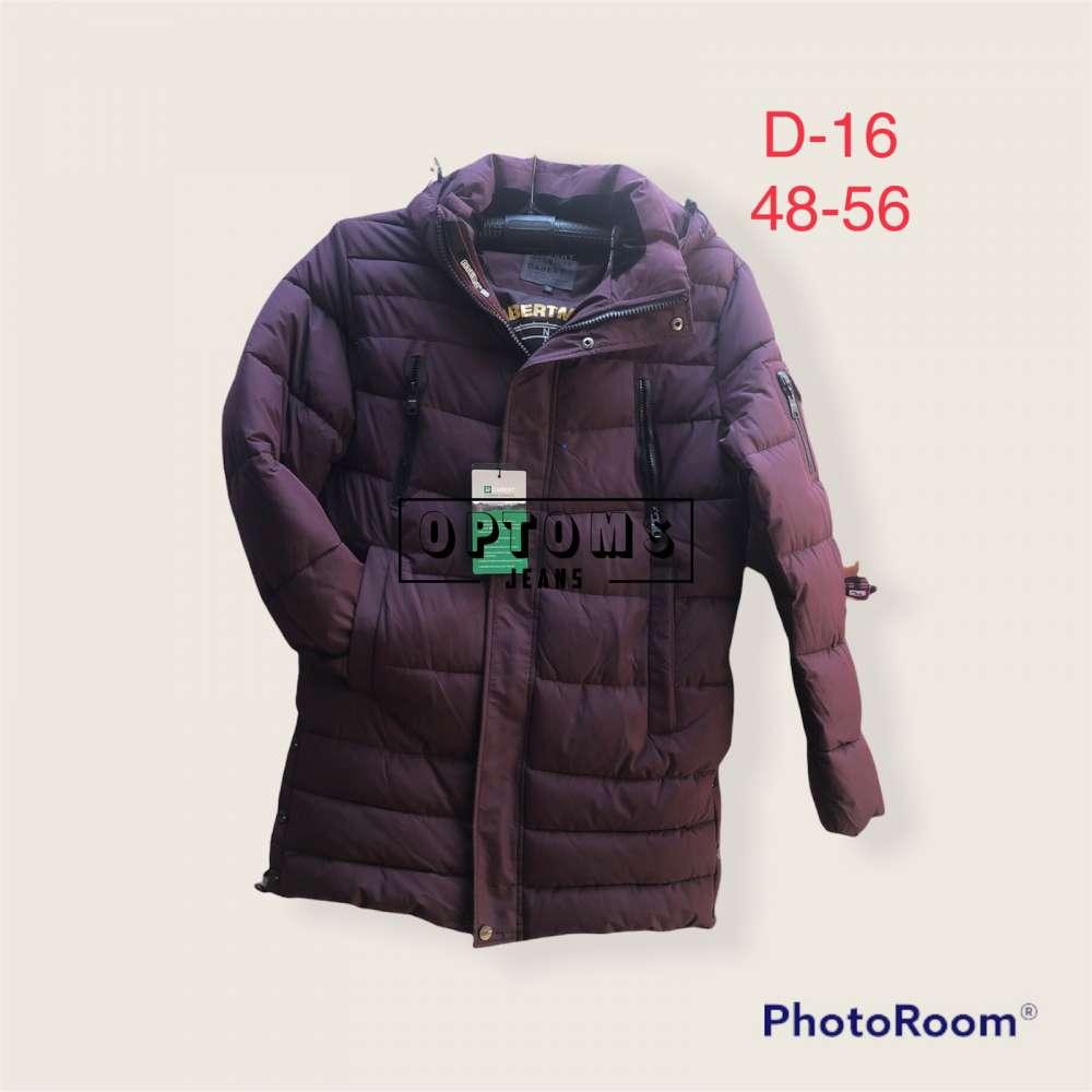 Мужская зимняя куртка 48-56 d:16b фото