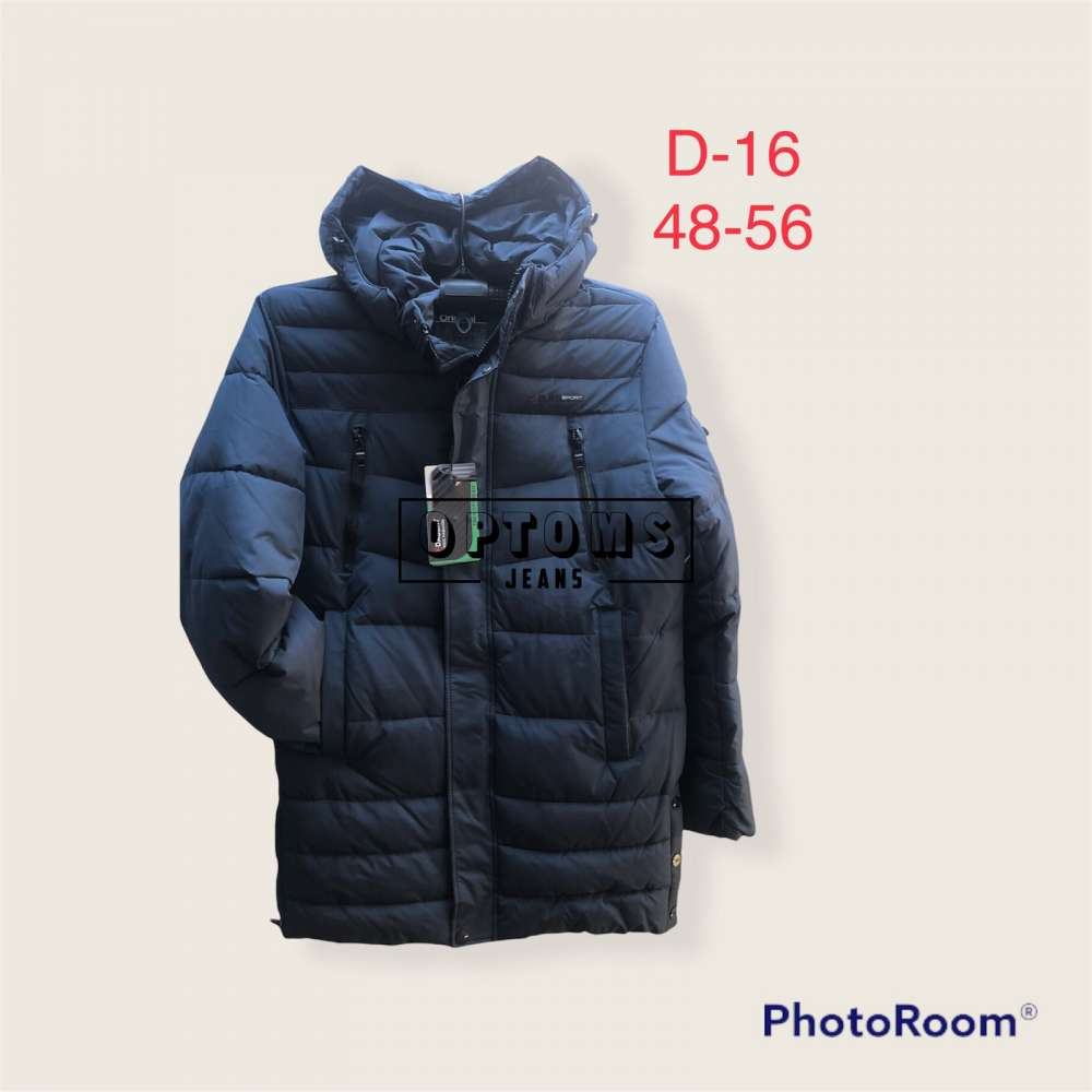 Мужская зимняя куртка 48-56 d:16c фото