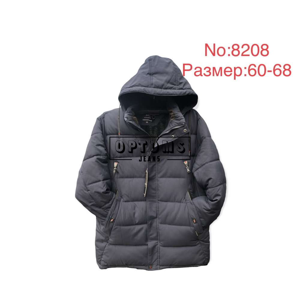 Мужская зимняя куртка 60-68 (8208c) фото