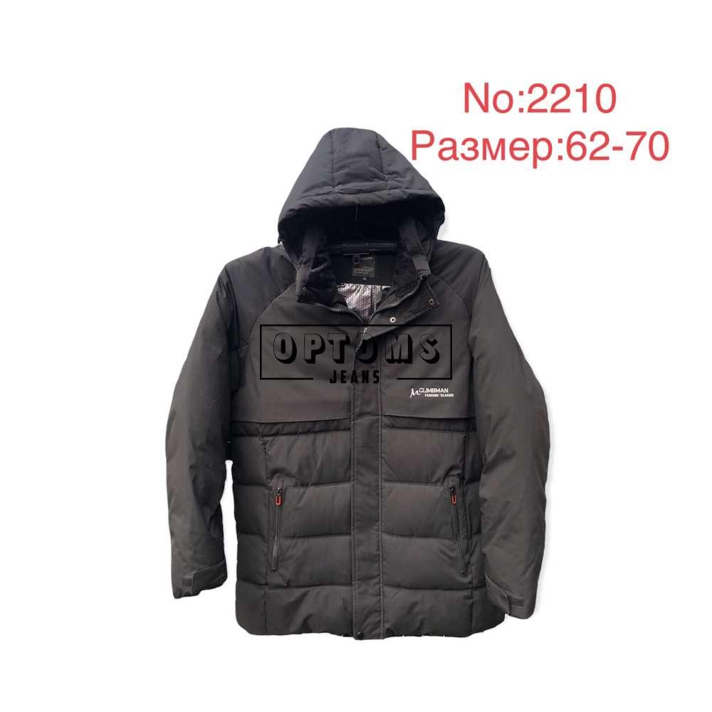 Мужская зимняя куртка 62-70 (2210a) фото