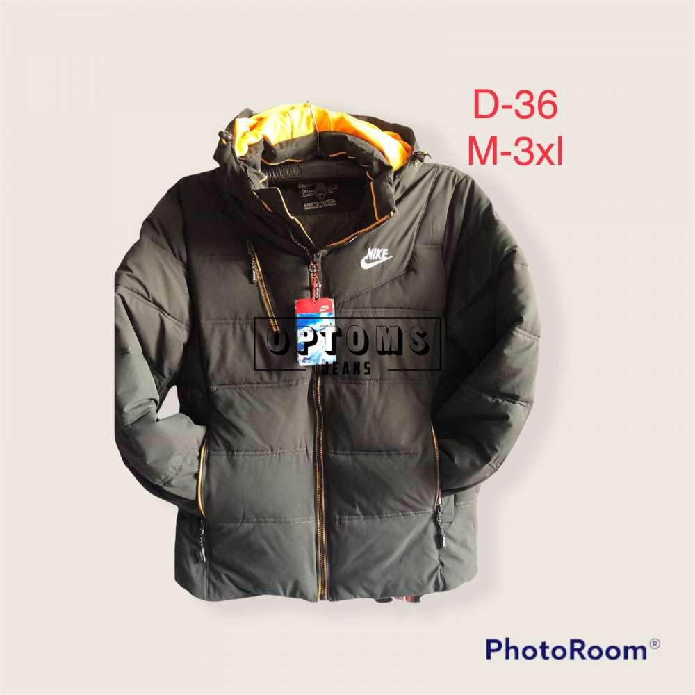 Мужская зимняя куртка m-3xl d-36a фото