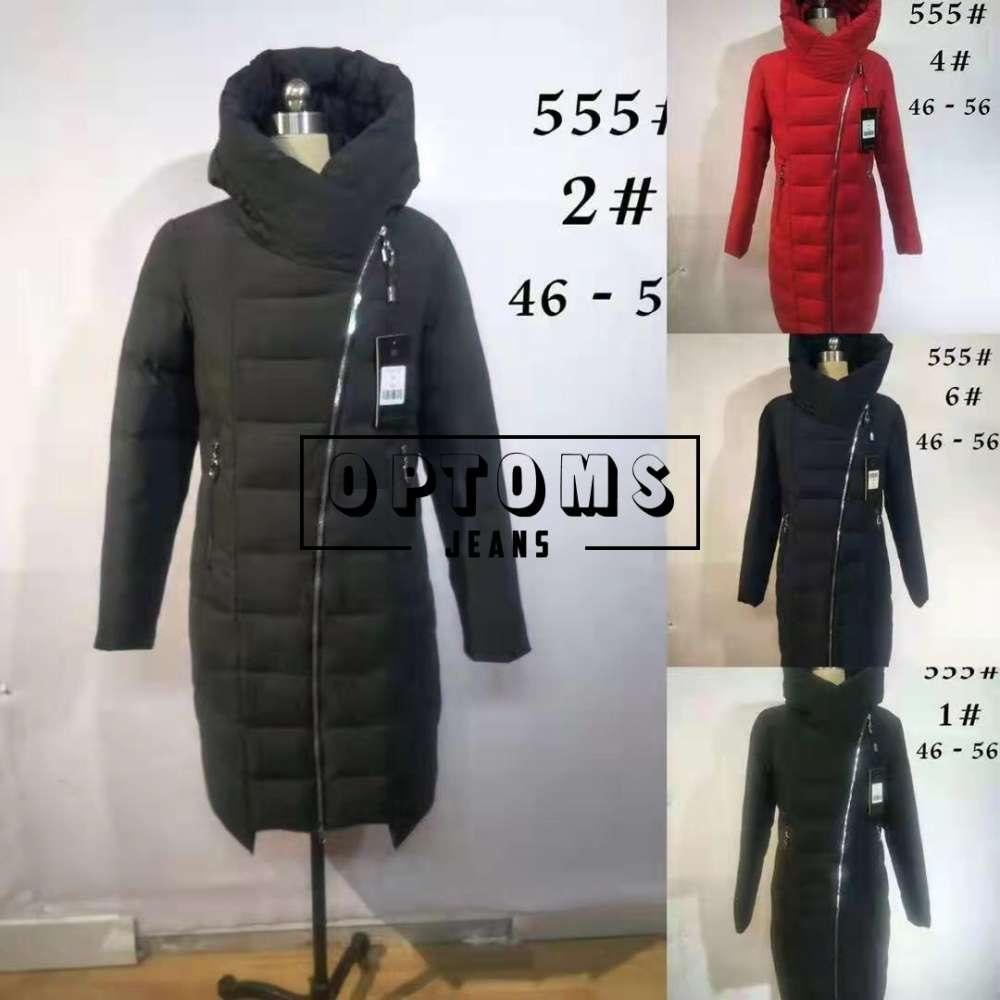 Куртка женская холлофайбер 555-2 размер 46-56 фото
