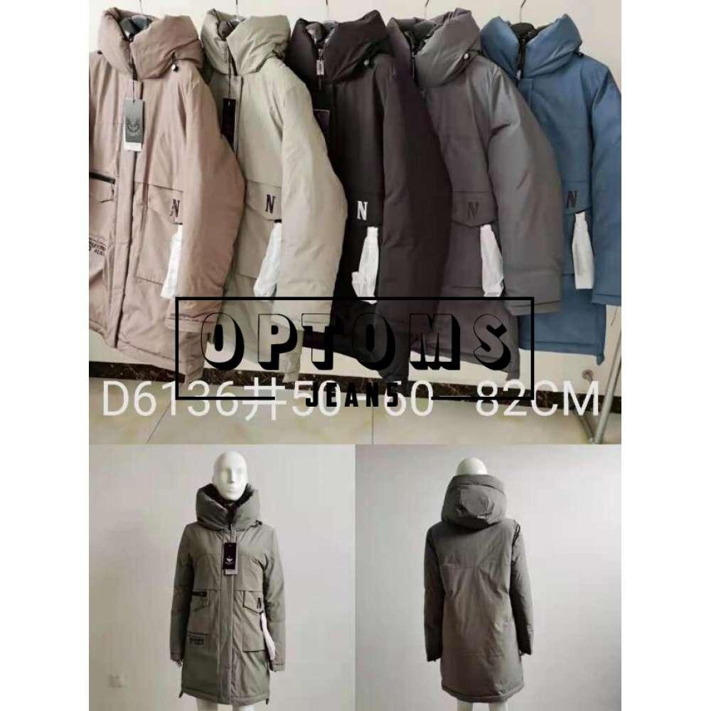 Куртка женская холлофайбер 6136 размер 50-60  82см фото