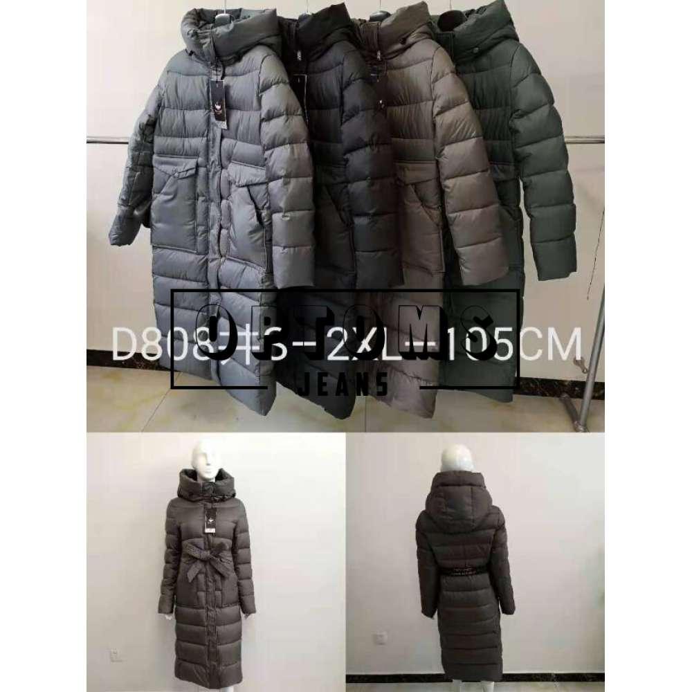 Куртка женская холлофайбер 808 размер S-2XL-105 см фото