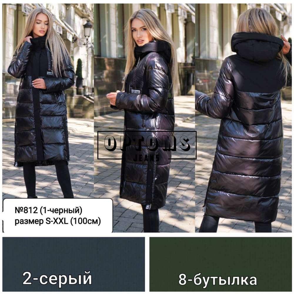 Куртка женская холлофайбер 812 размер S-2XL 100см фото