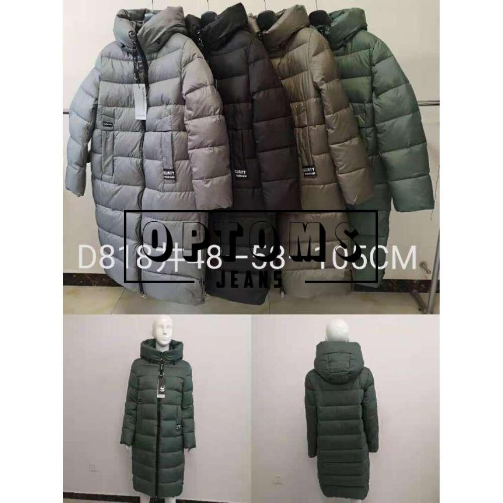 Куртка женская холлофайбер 818 размер 48-58-105 см фото