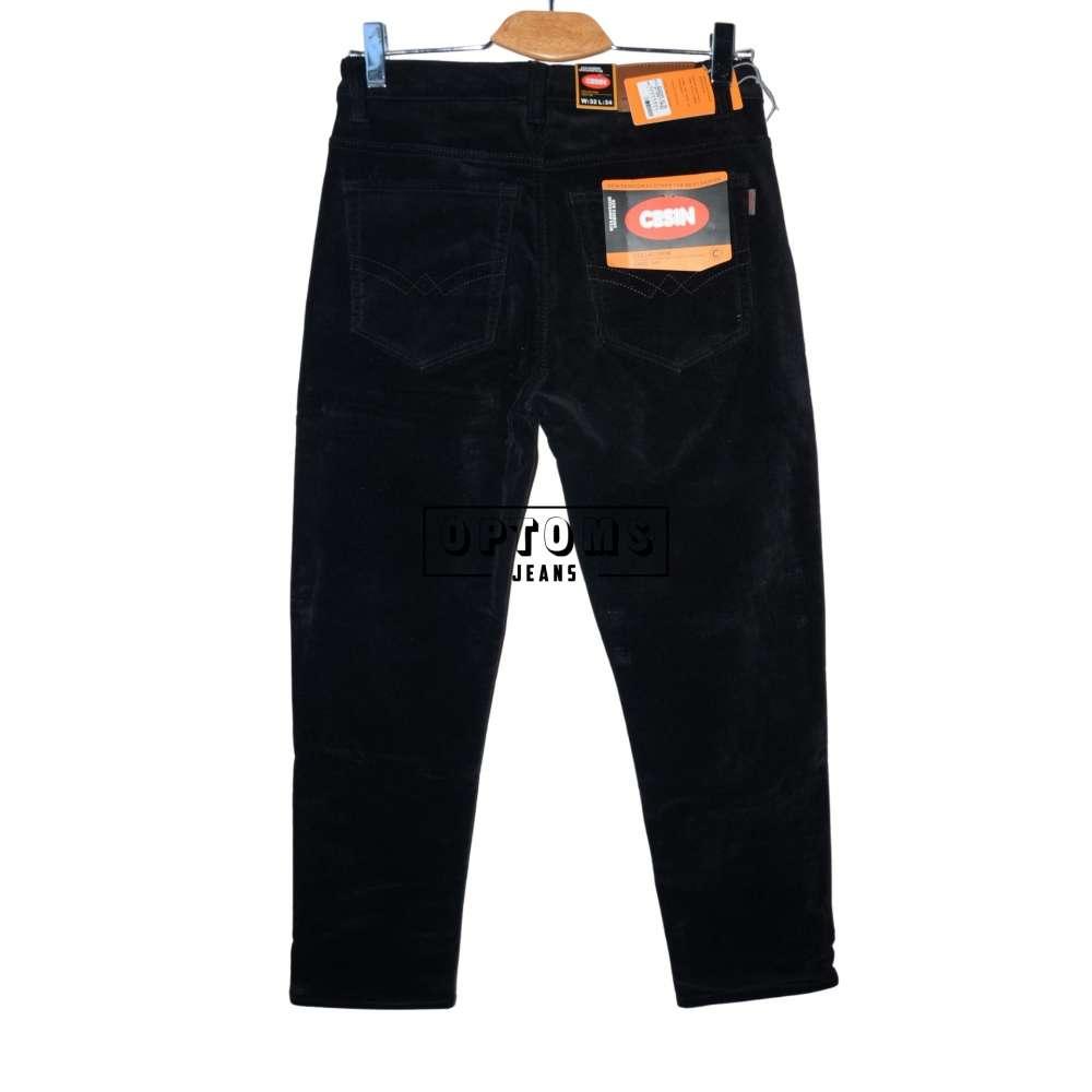 Мужские джинсы вельвет на флисе Cesin 6001-14-20 32-42/8шт фото