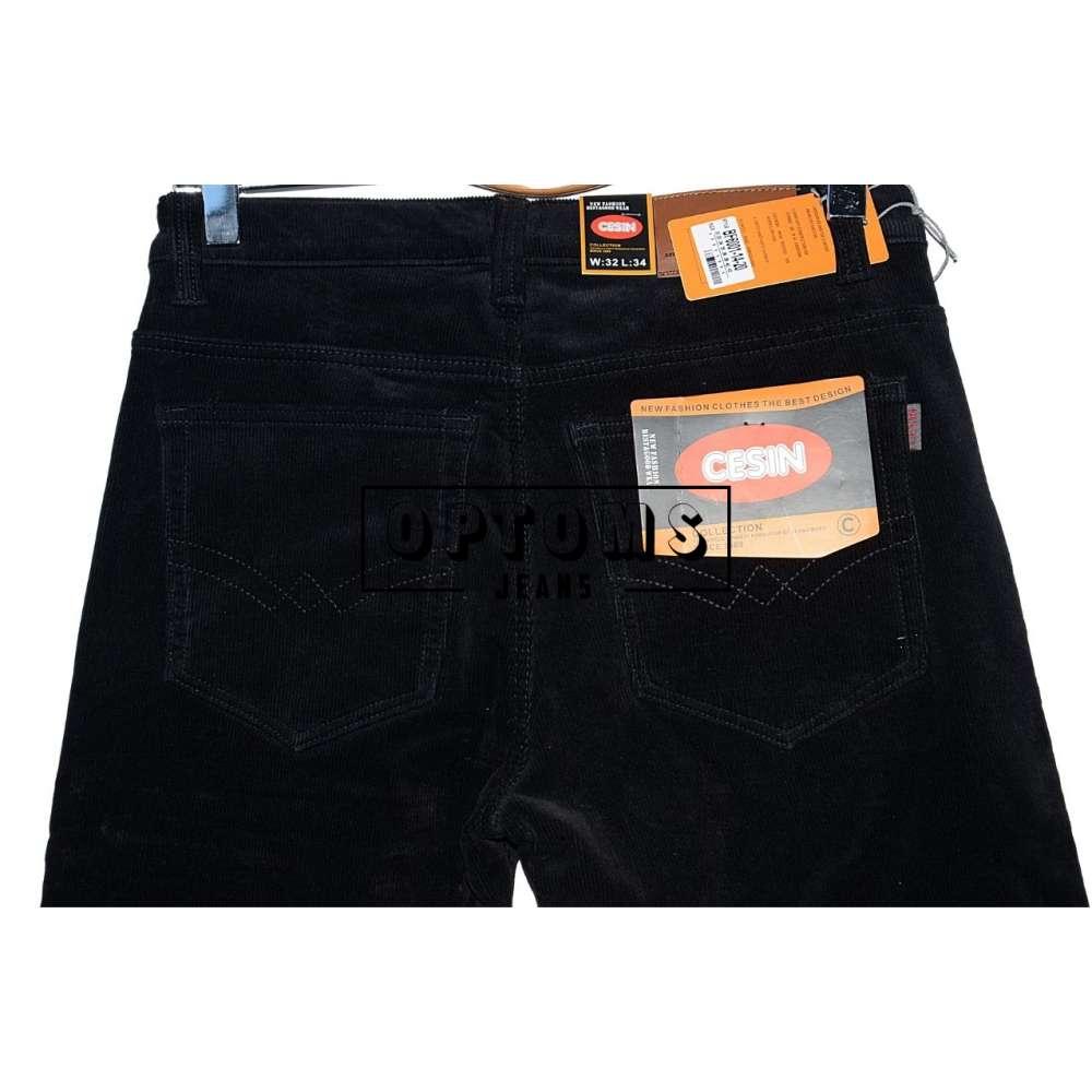 Мужские вельветовые джинсы на флисе Cesin BF6001-14-20 32-42/8шт фото