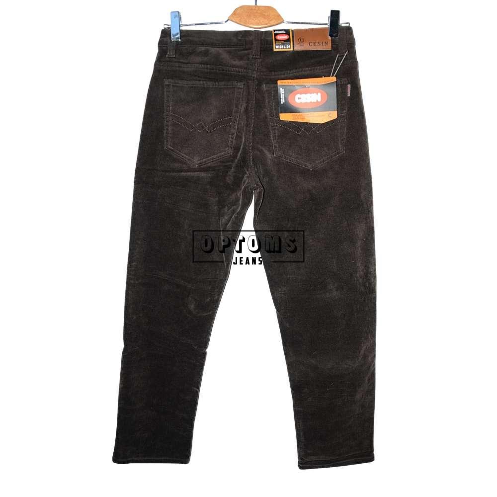 Мужские вельветовые джинсы на флисе Cesin BF6001-22-20 32-42/8шт фото