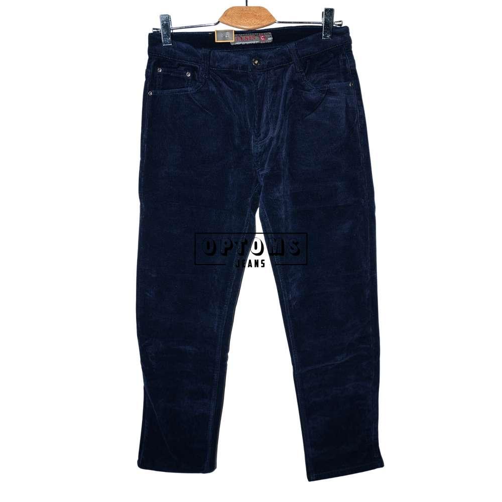 Мужские вельветовые джинсы на флисе Cesin BF6001-5-20 32-42/8шт фото