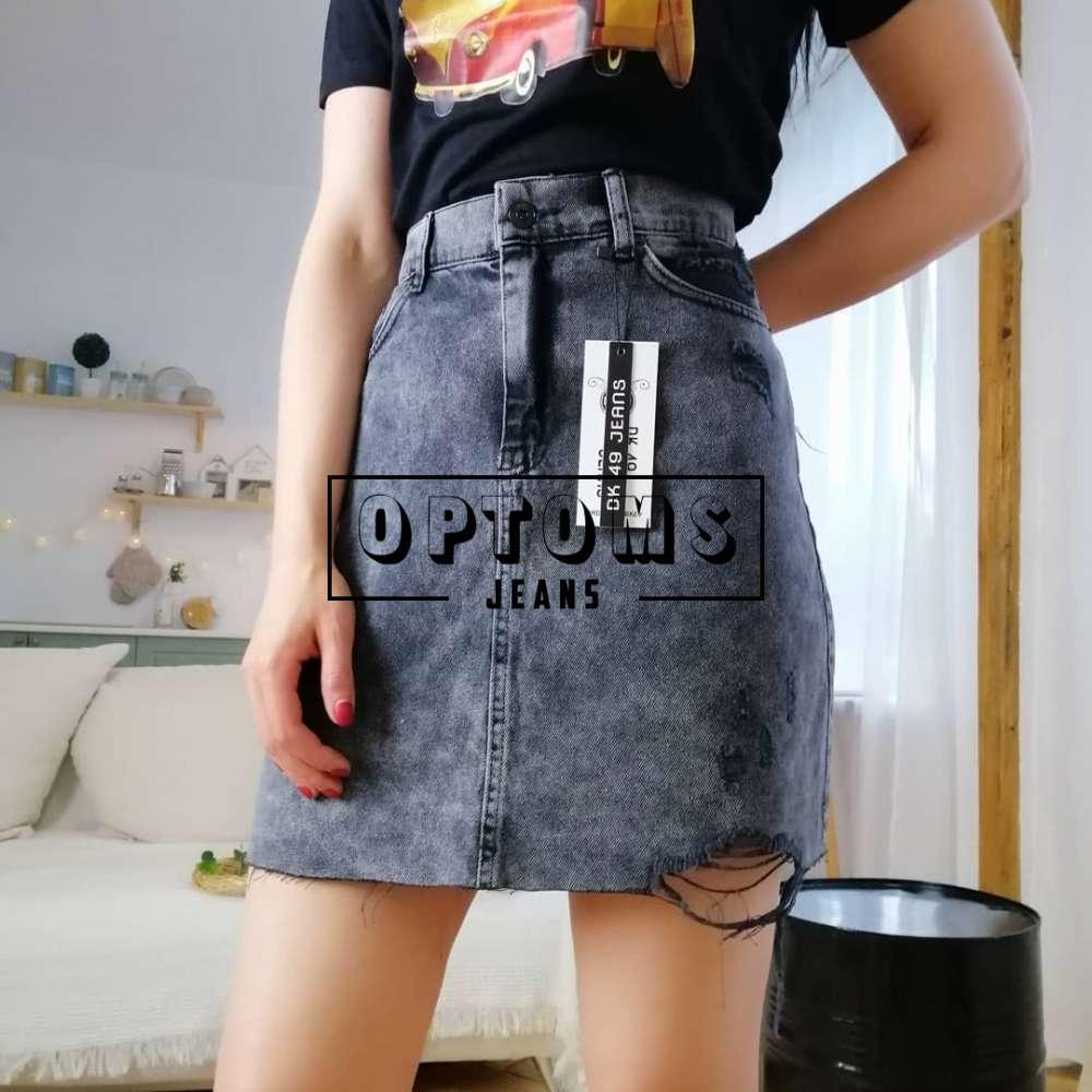 Женская джинсовая юбка DK49 49-199 26-31/6шт фото